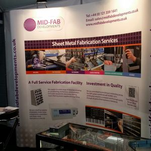 Mid Fab Exhibition Stand